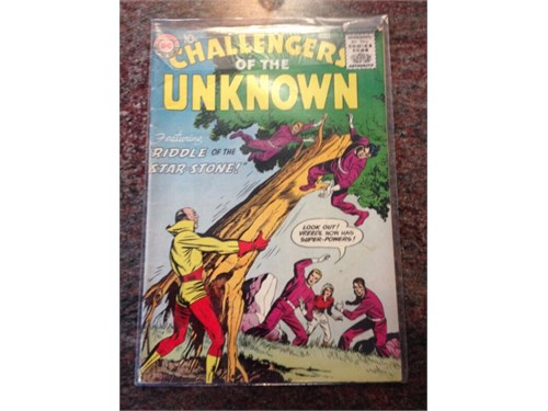 "DC ""Challengers"" #5 1958"