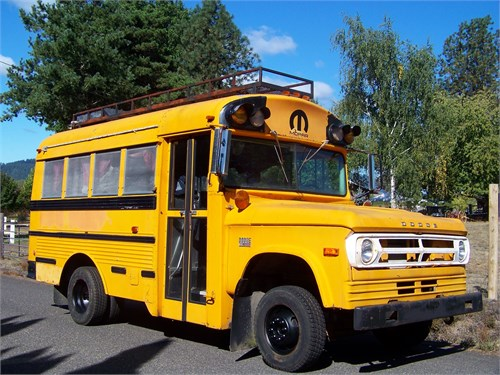 1971 Dodge Short Bus RV?
