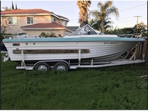 1971 IBM Cruiser Boat