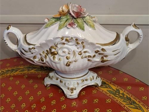 Vintage Capodimonte bowl