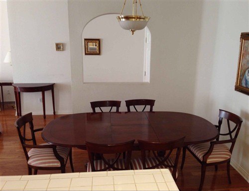 Mahogany Dining Table 8