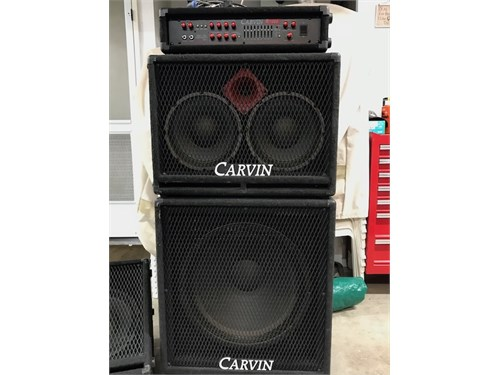 Carvin Bass Amp