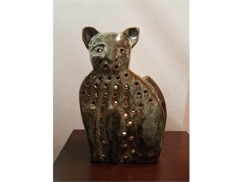 Cat Statue - Candle Holde