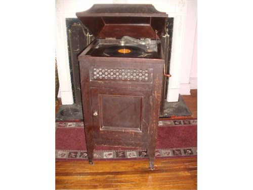 Antique Windup Phonograph