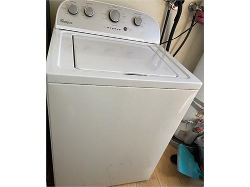 Whirlpool washer& Dryer