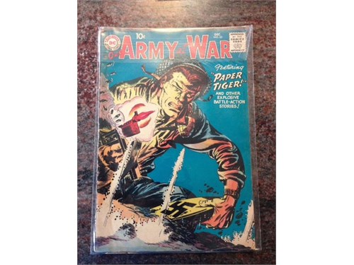 Our Army at War #65, 1957