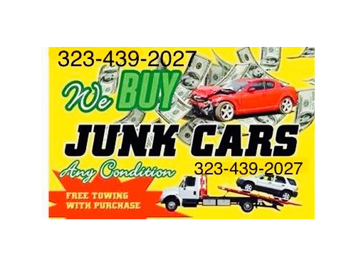 CASH FOR CARS/JUNKS