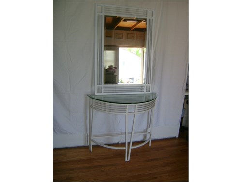Half moon Table Mirror