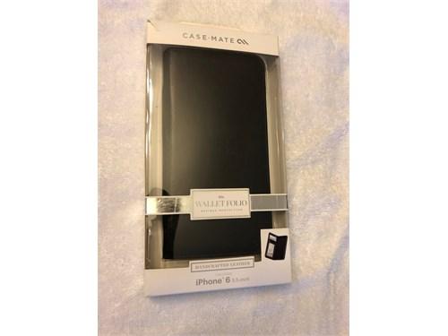 iPhone Leather Folio case