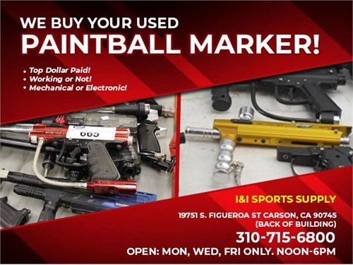 Wanted Used Paintball Gun