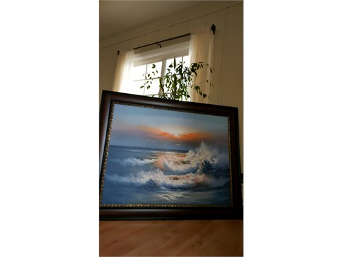 canvas oil painting frame
