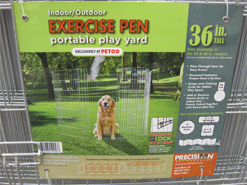 pet exercise play pen