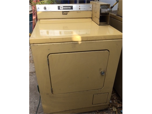 Coin Operated Gas Dryer