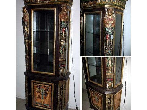 Hand Carved show cabinet