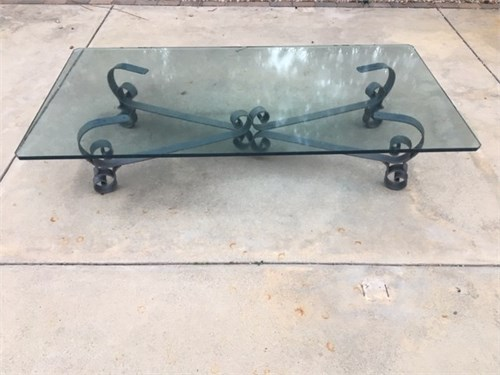 Coffee Table, Glass