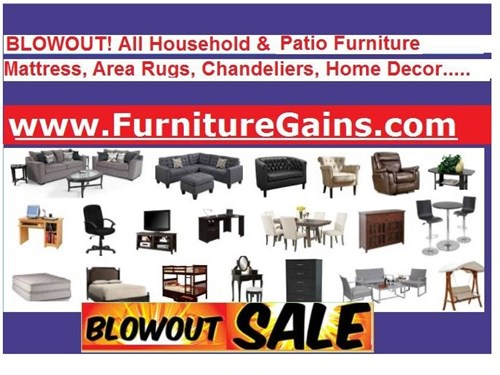Furniture Items on sale!