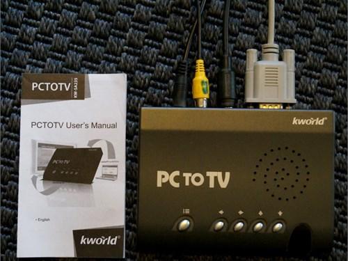 K World PC to TV  $20