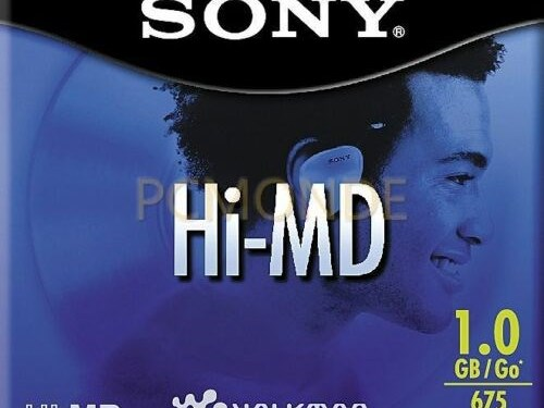 NEW Sony Hi-MD 1GB Media