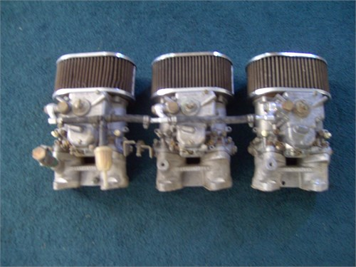 3 EACH, WEBER CARBS/MANIF