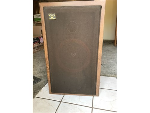 Cerwin-Vega D2 Speakers