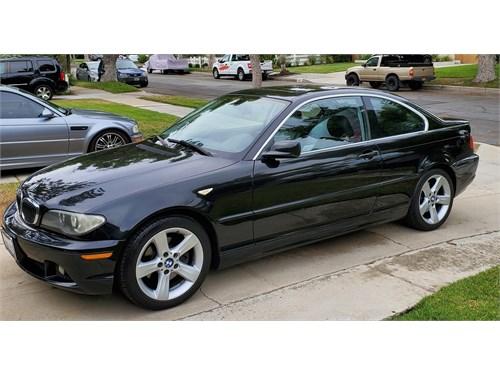 BMW 325Ci Black