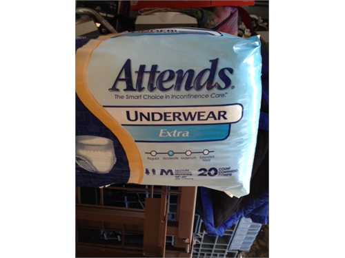 ADULT DIAPERS & BED PADS