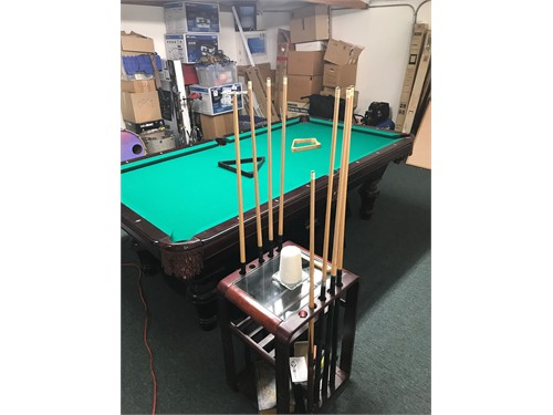 AMF Pool Table & Acc