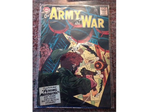 Our Army at War #71, 1958