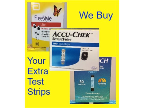 Diabetic Test Strips Port
