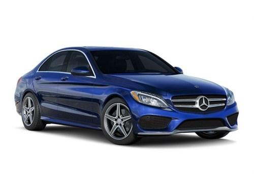 2018 Benz C300 BLUE