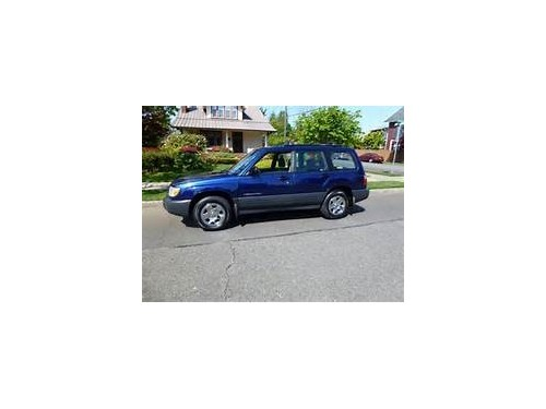 2001 FORESTER automatic