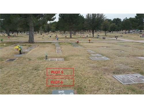 2 Military burial plots