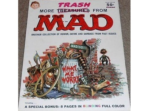 More Trash MAD #1 1958 EC