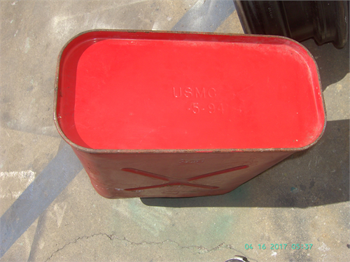 GAS JERRY CAN, AUTHENTIC