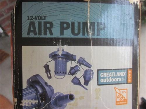 Hi volume air pump in box