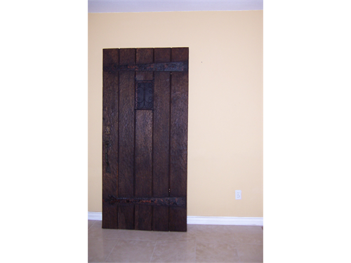 Door Antique Vintage Oak