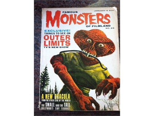 Famous Monsters No. 26