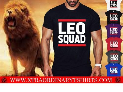 Leo Squad Zodiac Shirts
