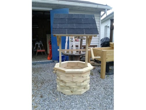 5 foot wishing well