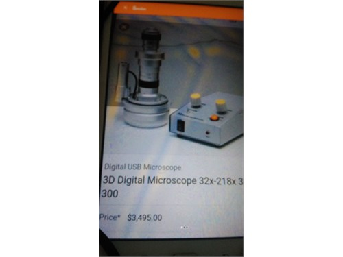 3d digital microscope