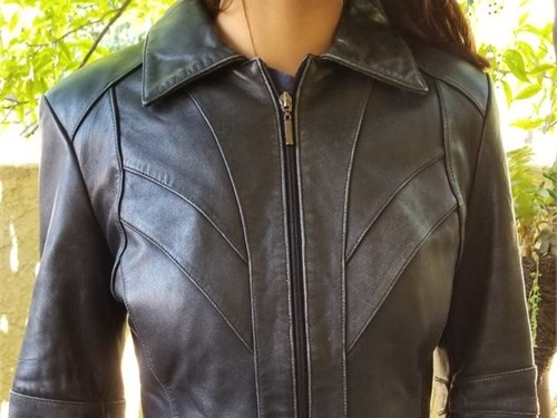 Express leather jacket sm
