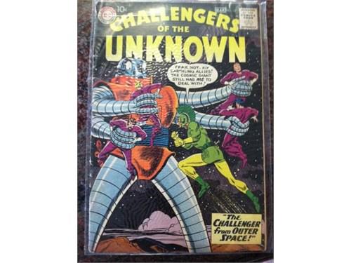 Challengers #12, 1960