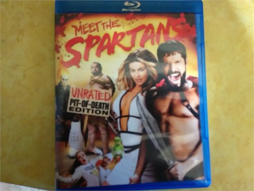 Meet the Spartans bluray