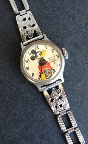 Mickey Mouse Or Other Character Watches For Sale Starting at 50 dollars Up 000 626-339-7485