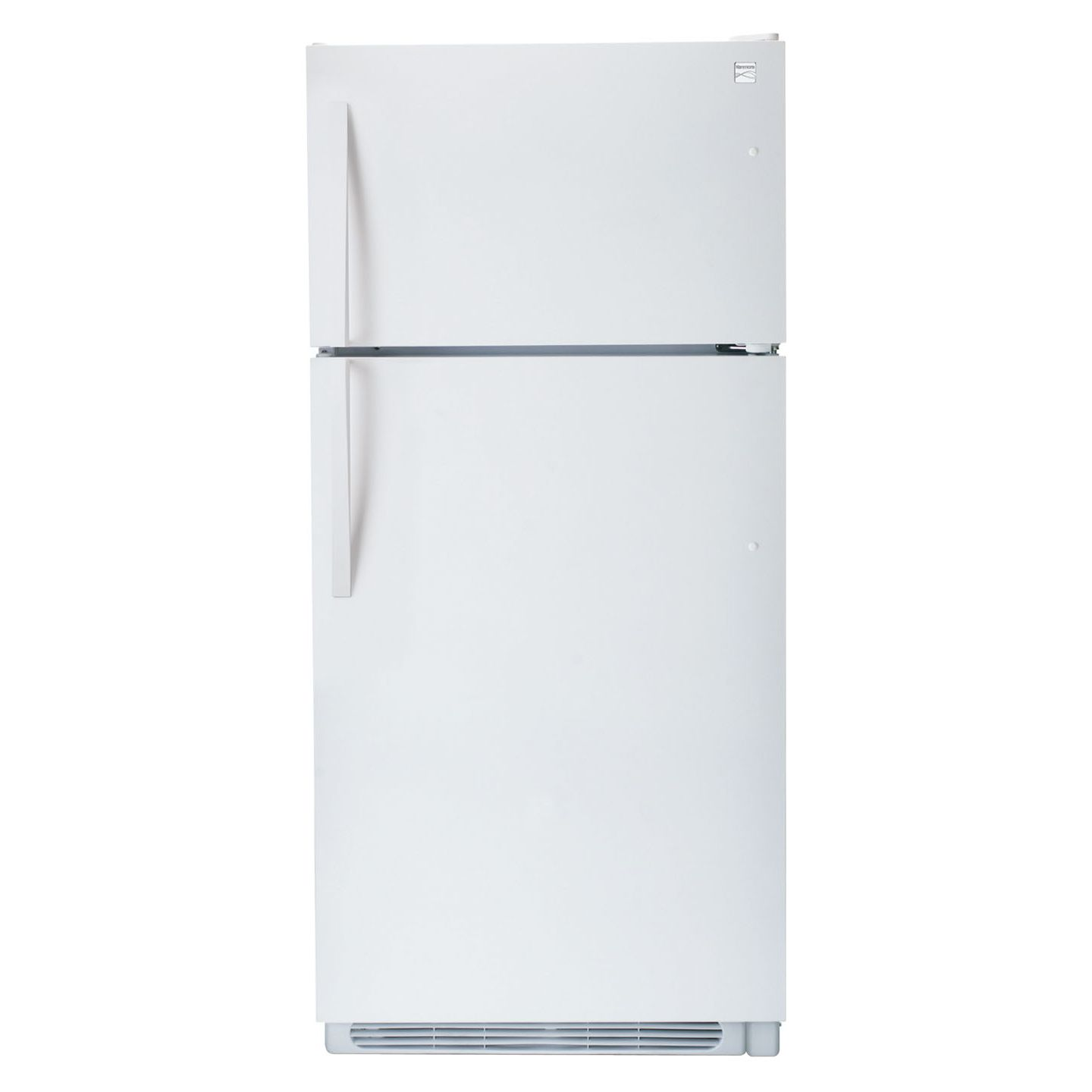 A Kenmore refrigerator in a good condition