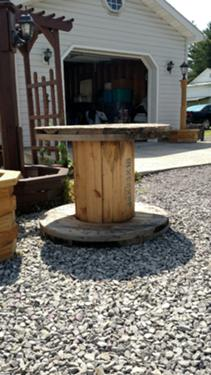 wooden cable spools 2000 each--home814447-3920--cell814506-4052--CASH ONLY--NO TEXTS
