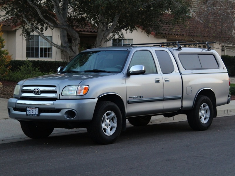 2003 Toyota Tundra Used 6 Cyl 5-Spd Manual SR5 access cab RWD 189K Silver Excellent cond Lee