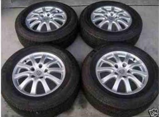 PORSCHE CAYENNE   GENUINE FACTORY OEM 17 Alloy Rims wheel and tires