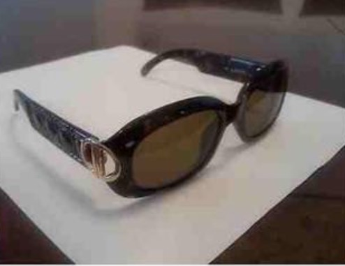DIOR Sunglasses Model Isadiora Color Black Multicolor Frame with Gray Gradient Lens Size 5